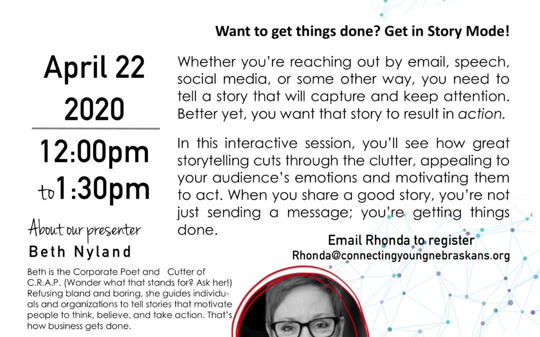 Storytelling Virtual Training